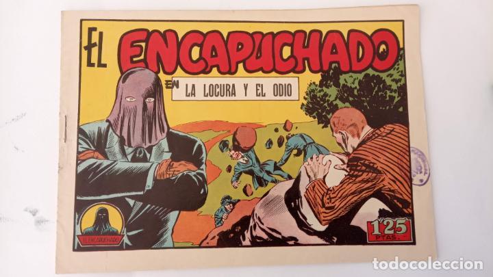 Tebeos: EL ENCAPUCHADO ORIGINALES NºS - 9,12,13,18,24 - EDI. CLIPER 1949 - ADRIANO BLASCO - Foto 7 - 234680150