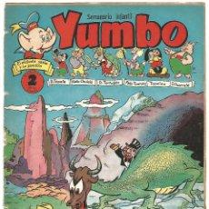 Tebeos: SEMANARIO INFANTIL YUMBO Nº 136 EDICIONES CLIPER AÑOS 50. Lote 234769165
