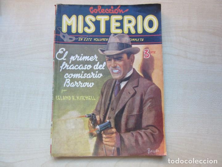 EL PRIMER FRACASO DEL COMISARIO BARROW AUTOR LELAND R. KITCHELL EDICIONES CLIPPER 1944 VER DESCRIP. (Tebeos y Comics - Cliper - Otros)