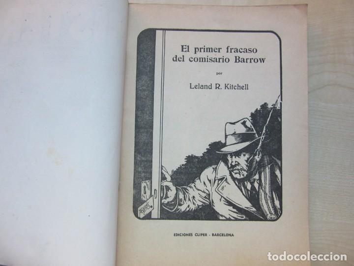 Tebeos: El primer fracaso del comisario Barrow Autor Leland R. Kitchell Ediciones Clipper 1944 Ver descrip. - Foto 2 - 234912245