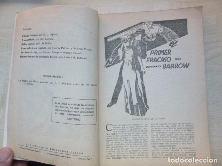 Tebeos: El primer fracaso del comisario Barrow Autor Leland R. Kitchell Ediciones Clipper 1944 Ver descrip. - Foto 3 - 234912245