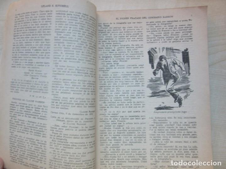 Tebeos: El primer fracaso del comisario Barrow Autor Leland R. Kitchell Ediciones Clipper 1944 Ver descrip. - Foto 4 - 234912245