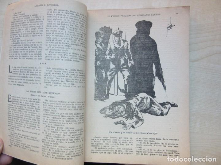 Tebeos: El primer fracaso del comisario Barrow Autor Leland R. Kitchell Ediciones Clipper 1944 Ver descrip. - Foto 5 - 234912245