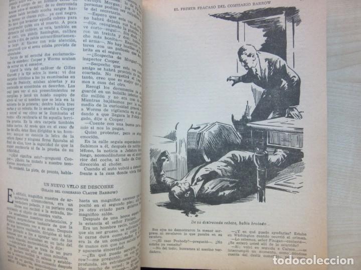 Tebeos: El primer fracaso del comisario Barrow Autor Leland R. Kitchell Ediciones Clipper 1944 Ver descrip. - Foto 6 - 234912245