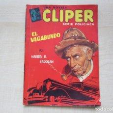 Tebeos: EL VAGABUNDO POR HARRIS B CADOGAN DIBUJOS TOMÁS PORTO SERIE POLICIACA ED. CLIPER HACIA 1944. Lote 234921300