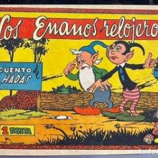 Tebeos: CUADERNOS SELECTOS CISNE Nº 61. LOS ENANOS RELOJEROS. ORIGINAL. MUY DIFICIL. UNICO. GERPLA/CLIPER. Lote 234940750