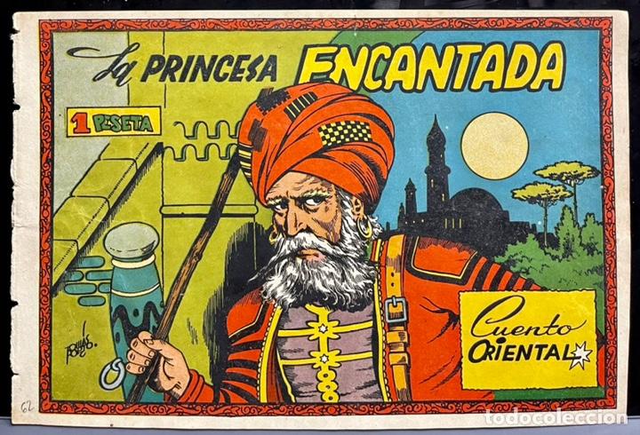 CUADERNOS SELECTOS CISNE Nº 62. LA PRINCESA ENCANTADA. TOMAS PORTO. ORIGINAL DIFICIL. GERPLA/CLIPER (Tebeos y Comics - Cliper - Otros)