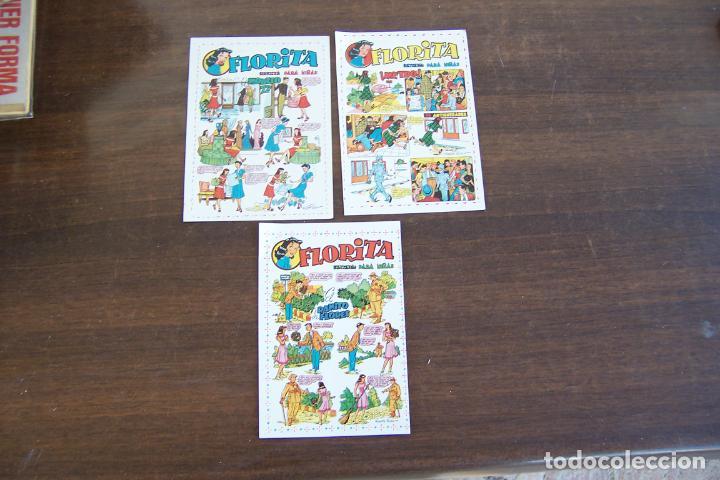 3 ENCARTE PUBLICITARIO DE FLORITA (Tebeos y Comics - Cliper - Florita)