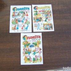 Tebeos: 3 ENCARTE PUBLICITARIO DE FLORITA. Lote 235336755