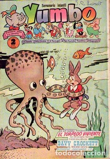 YUMBO (CLIPER) Nº180 (Tebeos y Comics - Cliper - Yumbo)