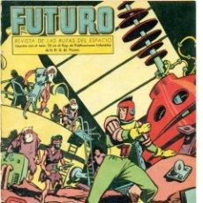 Tebeos: FUTURO REVISTA DE LAS RUTAS DEL ESPACIO, Nº 18 ORIGINAL DE EDICIONES CLIPER. Lote 235699180