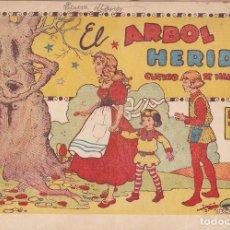 Tebeos: COMIC COLECCION CUENTO DE HADAS EL ARBOL HERIDO EDITORIAL GERPLA. Lote 235902580