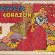 Livros de Banda Desenhada: COMIC COLECCION CUENTO DE HADAS NOBLEZAS DE CORAZON EDITORIAL GERPLA. Lote 235902695