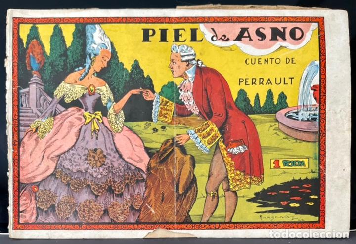 CUADERNOS SELECTOS CISNE Nº 34. PIEL DE ASNO. MARGENAT. ORIGINAL 1ª EDICIÓN. GERPLA//CLIPER (Tebeos y Comics - Cliper - Otros)
