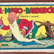 Tebeos: CUADERNOS SELECTOS CISNE Nº 74. EL MAGO BARBUDON. ORIGINAL MUY DIFICIL. GERPLA//CLIPER 1º EDICIÓN. Lote 235961350