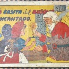 Tebeos: CUADERNOS SELECTOS CISNE Nº 18. LA CASITA DEL BOSQUE ENCANTADO. ORIGINAL. GERPLA//CLIPER. Lote 236197980
