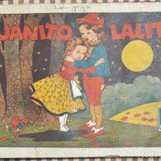 Tebeos: CUADERNOS SELECTOS CISNE Nº 22. JUANITO Y LALITA. ORIGINAL. GERPLA//CLIPER. Lote 236206540