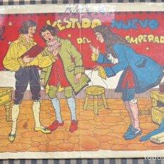 Livros de Banda Desenhada: CUADERNOS SELECTOS CISNE Nº 33. EL VESTIDO NUEVO DEL EMPERADOR. ORIGINAL. GERPLA//CLIPER. Lote 236214085