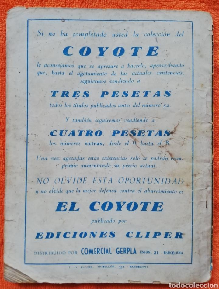 Tebeos: EL CUERVO EN LA PRADERA~EL COYOTE - 1947~1ªEd - J. MALLORQUÍ - ED. CLIPER - PJRB - Foto 4 - 236252130