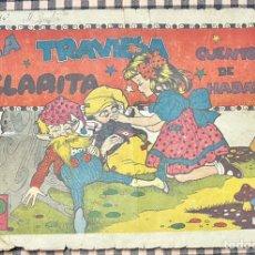Tebeos: CUADERNOS SELECTOS CISNE Nº 59. LA TRAVIESA CLARITA. ORIGINAL. MUY DIFICIL. GERPLA//CLIPER. Lote 236254080