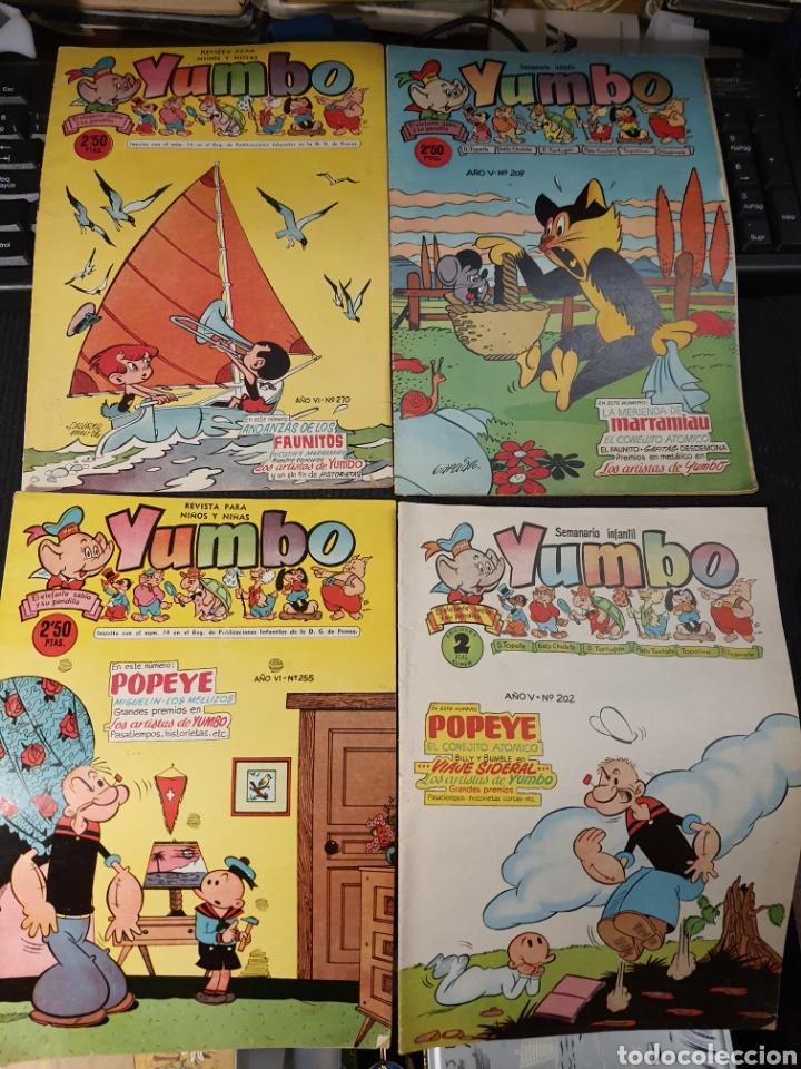 Tebeos: Semanario infantil Yumbo .12 numeros . Algunos defectos - Foto 2 - 236256000