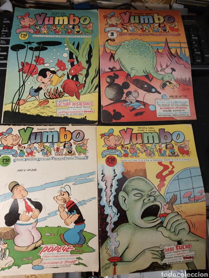 SEMANARIO INFANTIL YUMBO .12 NUMEROS . ALGUNOS DEFECTOS (Tebeos y Comics - Cliper - Yumbo)