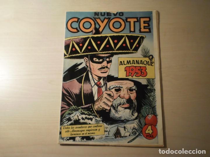 NUEVO COYOTE - ALMANAQUE 1953 (Tebeos y Comics - Cliper - El Coyote)
