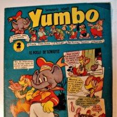 Tebeos: YUMBO, EDITORIAL CLIPER NÚMERO 12 ORIGINAL 1953. Lote 238738835