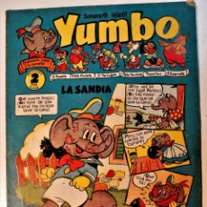 Tebeos: YUMBO, EDITORIAL CLIPER, NÚMERO 13 ORIGINAL 1953. Lote 238739375