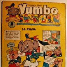 Tebeos: YUMBO, EDITORIAL CLIPER, NÚMERO 14 ORIGINAL 1953. Lote 238739900