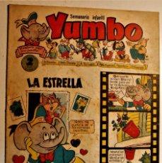 Tebeos: YUMBO, EDITORIAL CLIPER, NÚMERO 20 ORIGINAL 1953. Lote 238740290