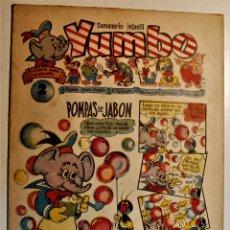 Tebeos: YUMBO, EDITORIAL CLIPER, NÚMERO 21 ORIGINAL 1953. Lote 238741475