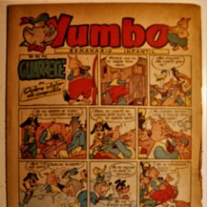 Tebeos: YUMBO, EDITORIAL CLIPER, ORIGINAL 1953. Lote 238742440