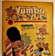 Tebeos: YUMBO, EDITORIAL CLIPER, NÚMERO 27 ORIGINAL 1953. Lote 238854125