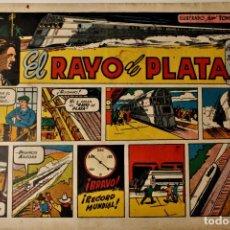 "Livros de Banda Desenhada: EL RAYO DE PLATA, EDITORIAL CLIPER 1942, "" PELÍCULAS FAMOSAS"" NÚMERO 14 ORIGINAL. Lote 239435330"