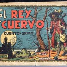 Tebeos: CUADERNOS SELECTOS CISNE Nº 5. EL REY CUERVO. ORIGINAL MUY DIFICIL 1ª EDICIÓN.GERPLA//CLIPER. Lote 235964100