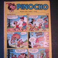 Tebeos: PINOCHO (1957, CLIPER) 16 · 1958 · PINOCHO. Lote 240991365