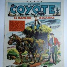 Tebeos: HISTORIETAS EL COYOTE Nº 93 EL RANCHO ALCARAZ F.BATET - EDICIONES CLIPER MIDE 26 X 18 CM.. Lote 241055185