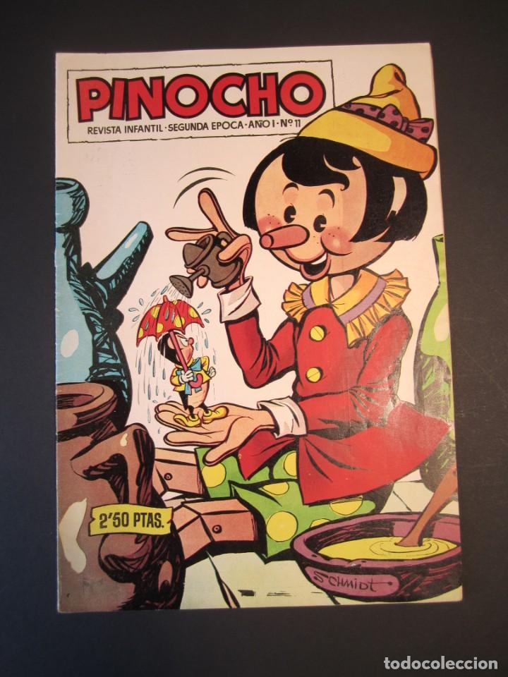 PINOCHO (1957, CLIPER) 11 · 1957 · PINOCHO (Tebeos y Comics - Cliper - Otros)