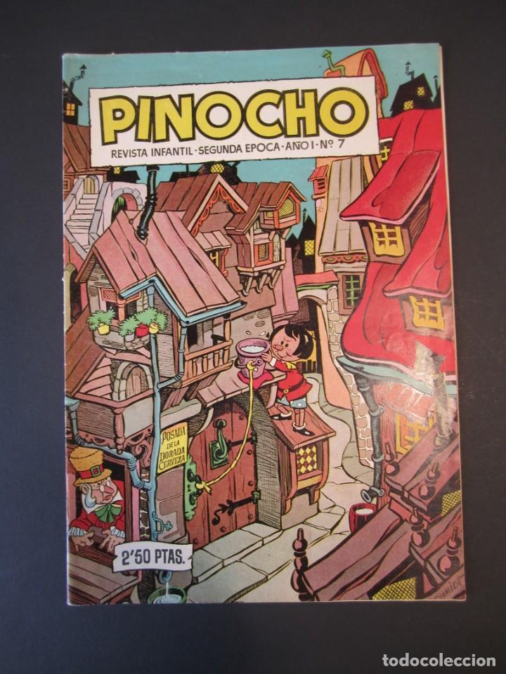 PINOCHO (1957, CLIPER) 7 · 1957 · PINOCHO (Tebeos y Comics - Cliper - Otros)
