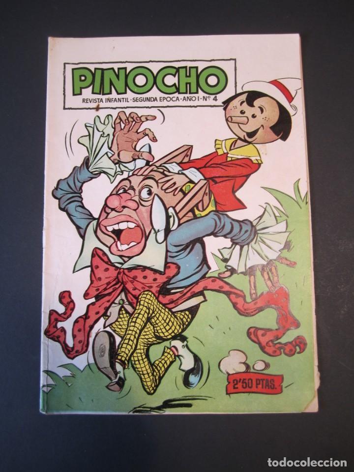 PINOCHO (1957, CLIPER) 4 · 1957 · PINOCHO (Tebeos y Comics - Cliper - Otros)