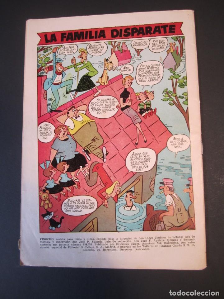Tebeos: PINOCHO (1957, CLIPER) 4 · 1957 · PINOCHO - Foto 2 - 241103535