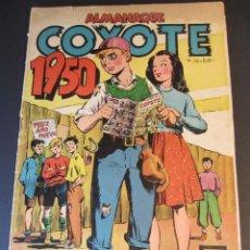 Tebeos: COYOTE, EL (1947, CLIPER) EXTRA 1 · 1949 · ALMANAQUE 1950. Lote 241416945
