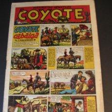 Tebeos: COYOTE, EL (1947, CLIPER) 1 · 29-V-1947 · EL COYOTE CABALGA. Lote 241420500