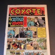 Tebeos: COYOTE, EL (1947, CLIPER) 10 · 27-XI-1947 · UN CASTIGO DEL COYOTE. Lote 241451510