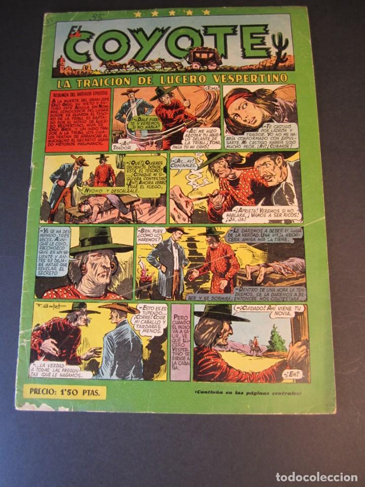 COYOTE, EL (1947, CLIPER) 35 · 6-I-1949 · LA TRAICIÓN DE LUCERO VESPERTINO (Tebeos y Comics - Cliper - El Coyote)
