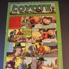 Tebeos: COYOTE, EL (1947, CLIPER) 35 · 6-I-1949 · LA TRAICIÓN DE LUCERO VESPERTINO. Lote 241451845