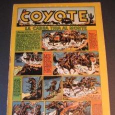 Tebeos: COYOTE, EL (1947, CLIPER) 46 · 1949 · LA CABRA TIRA AL MONTE. Lote 241452325