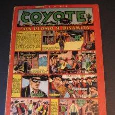 Livros de Banda Desenhada: COYOTE, EL (1947, CLIPER) 50 · 1950 · CON PLOMO Y DINAMITA. Lote 241452680