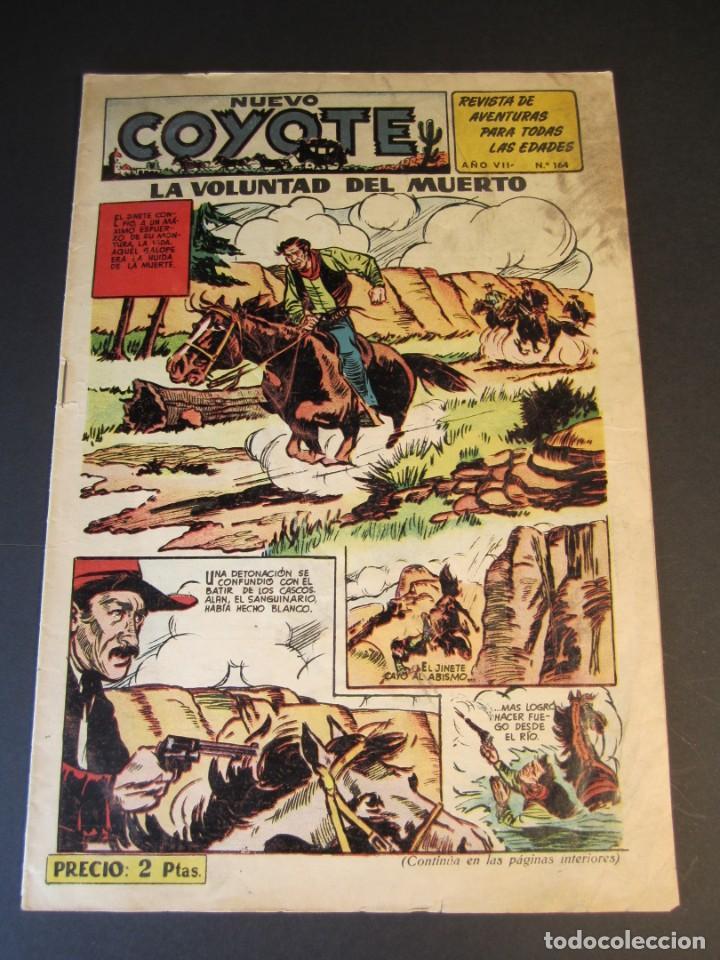 COYOTE, EL (1947, CLIPER) 164 · 1953 · LA VOLUNTAD DEL MUERTO (Tebeos y Comics - Cliper - El Coyote)